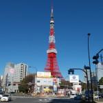 東京タワー眺望点赤羽橋交差点南側