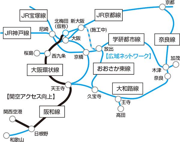 うめきた2期JR新線(北梅田駅)
