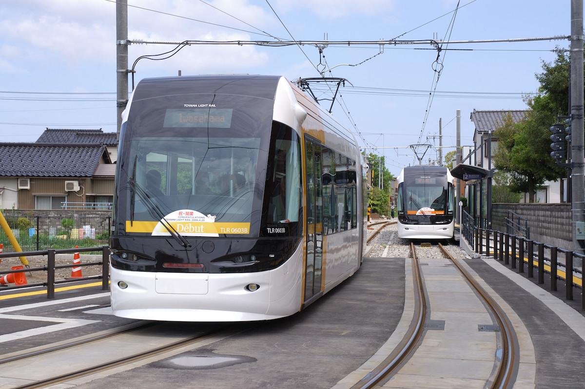コンパクトシティ・富山LRT