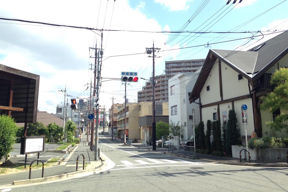第一種中高層住居専用地域の街なみ