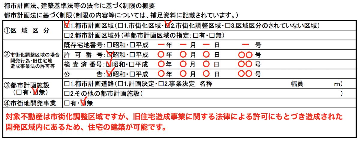 都市計画法(市街化調整区域)