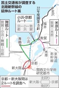北陸新幹線新大阪駅