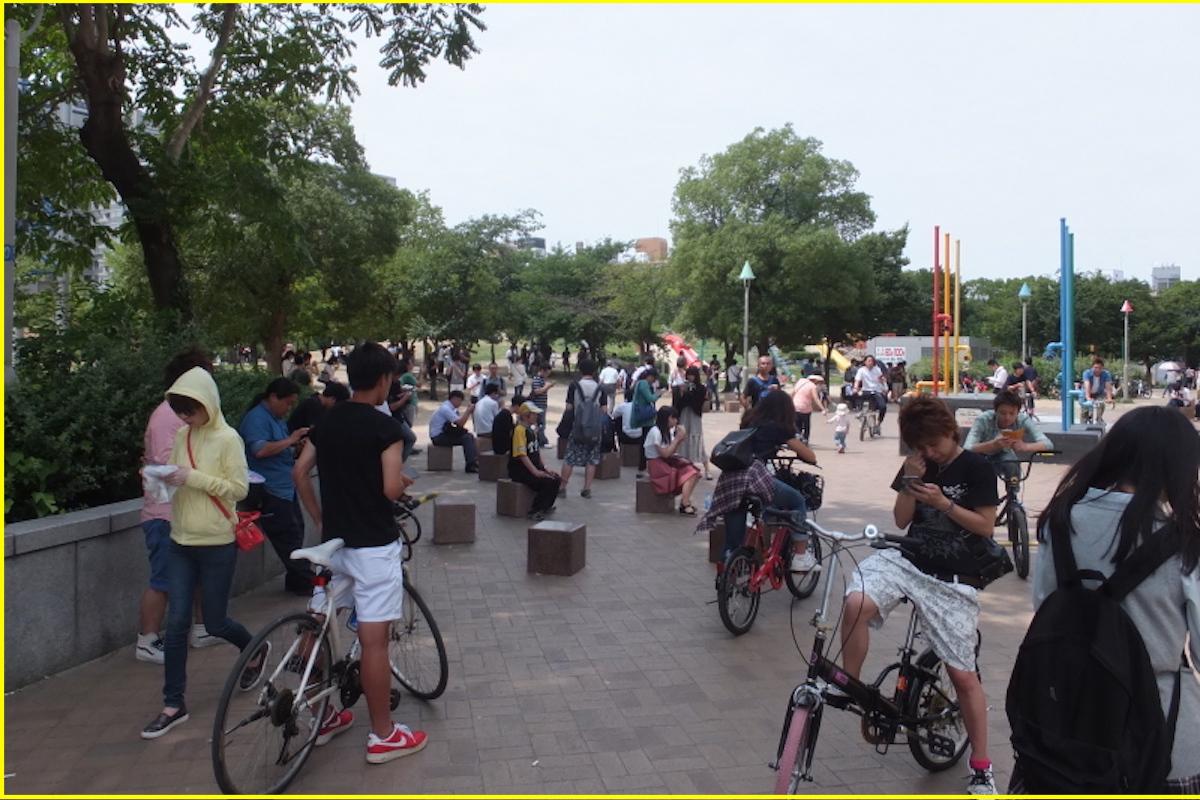 扇町公園ポケモンgo