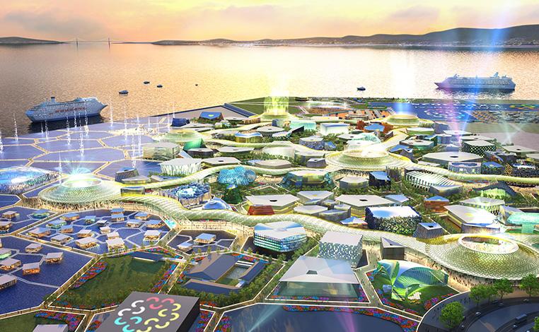 2025年に大阪万博が開かれる夢洲はシンガポールになるのか