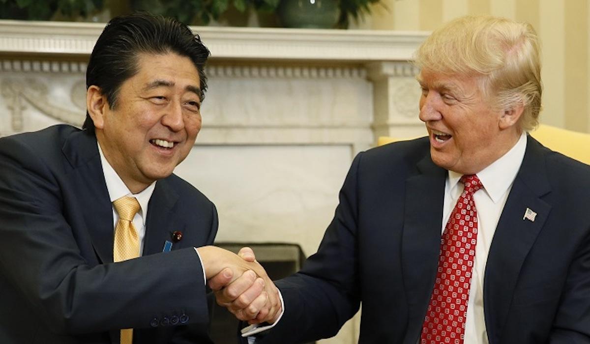 安倍首相とトランプ大統領