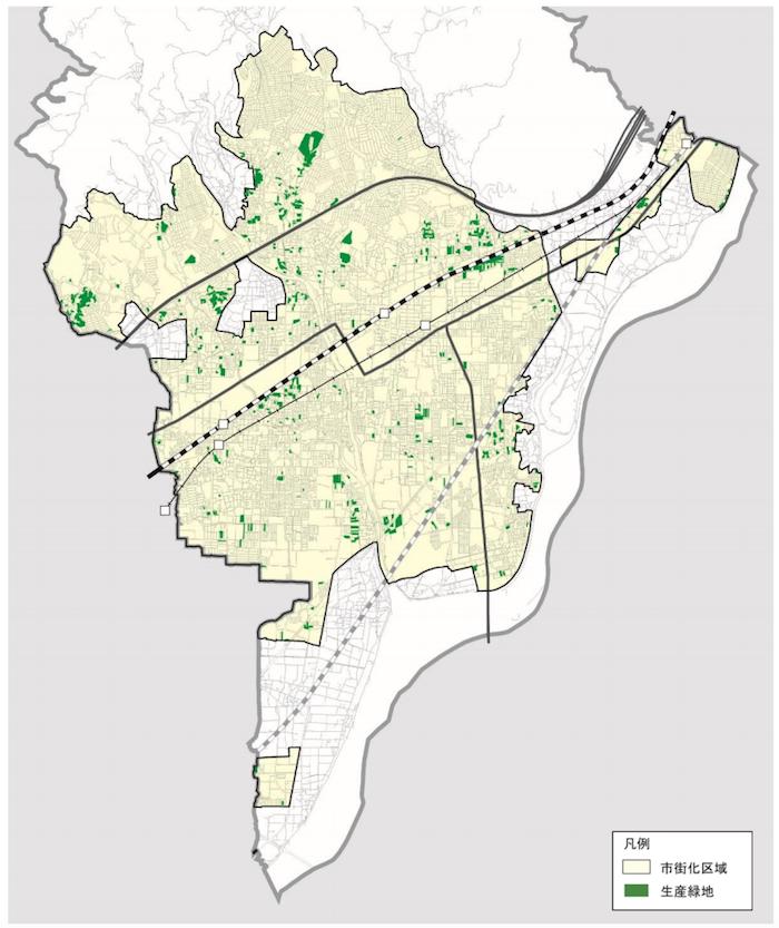 高槻市生産緑地