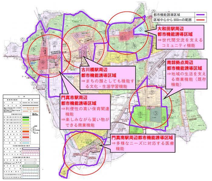 門真市都市機能誘導区域