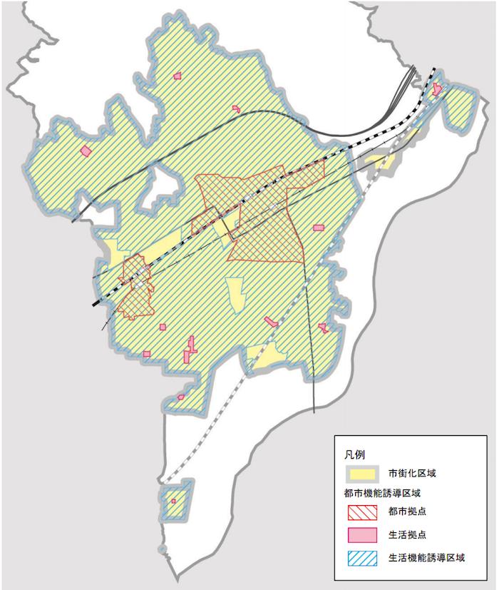 高槻市都市機能誘導区域