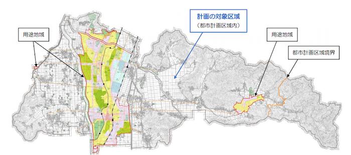 鯖江市都市計画区域