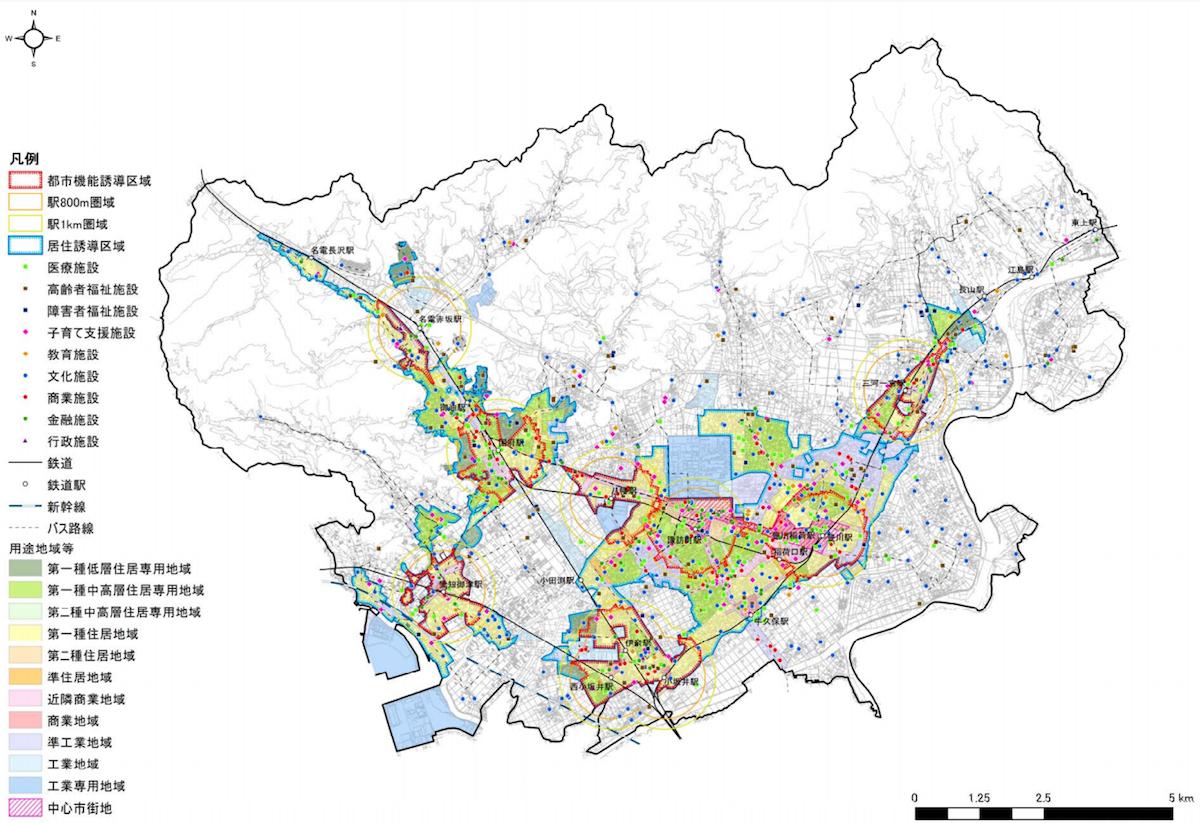 豊川市都市機能誘導区域