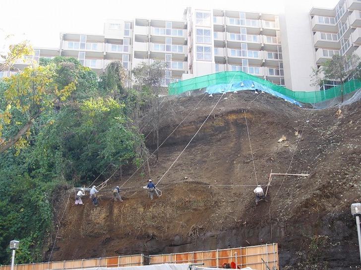 急傾斜地崩壊危険区域