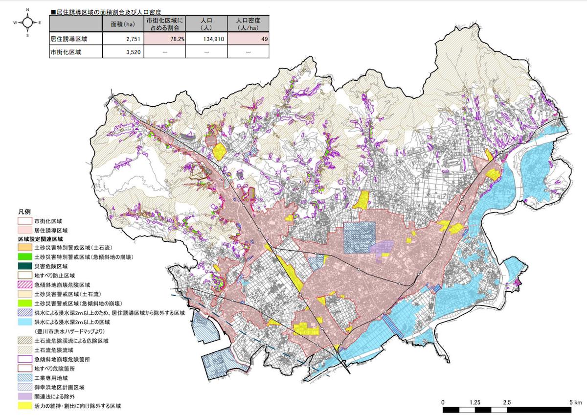 豊川市居住誘導区域