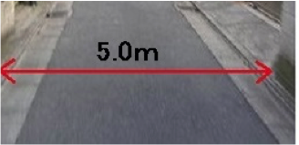 道路の幅員