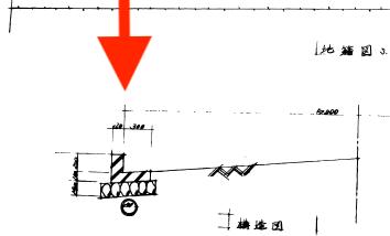 位置指定図断面図