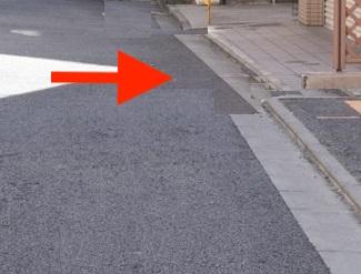 位置指定道路(道路後退)
