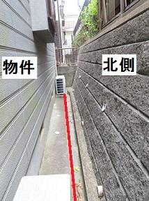 擁壁と境界