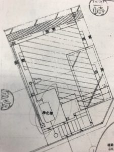 建築時の図面